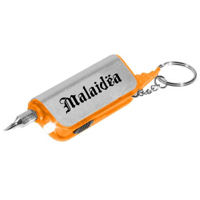Wholesale Flashlight Screwdriver Key Chain