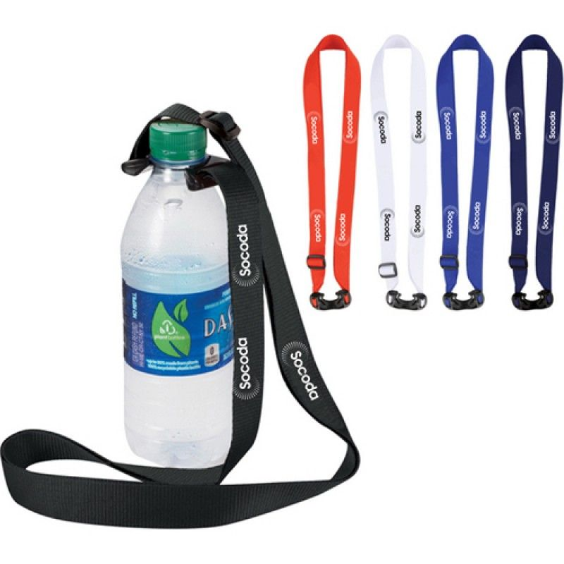 Wholesale Bottle Strap Polyester Lanyard