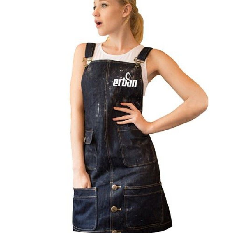 Wholesale Men And Women Cotton Denim Apron
