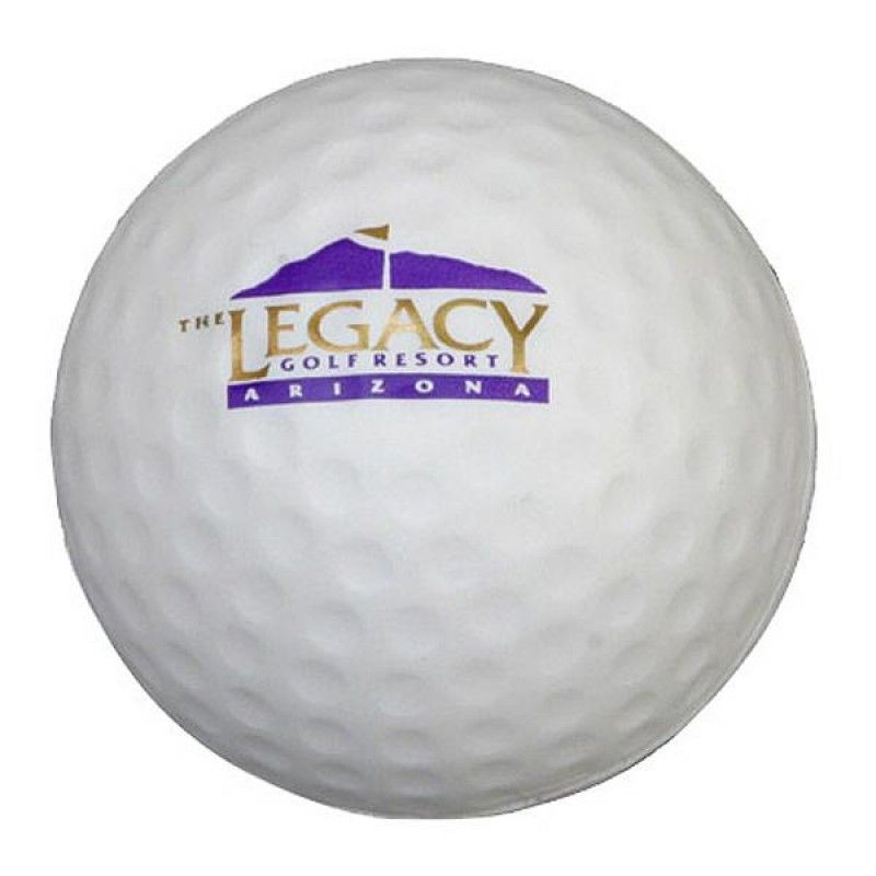 Wholesale Golf Ball Stress Reliever-[AL-28007]