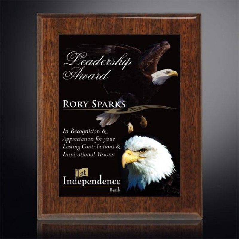Wholesale Aberdeen Walnut Plaque-[CD-28008]
