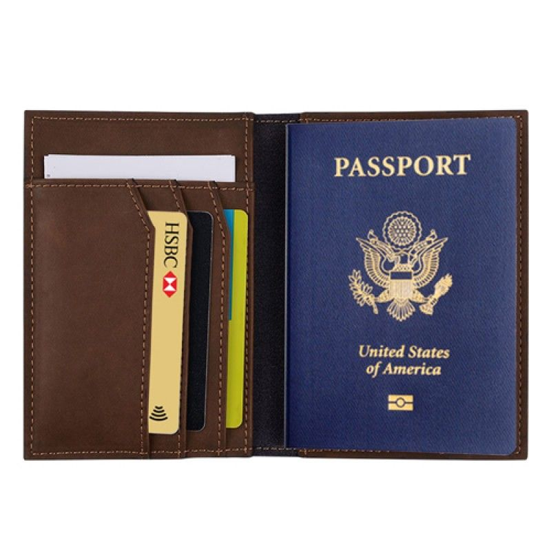 Wholesale Genuine Passport Passport Holder Wallet