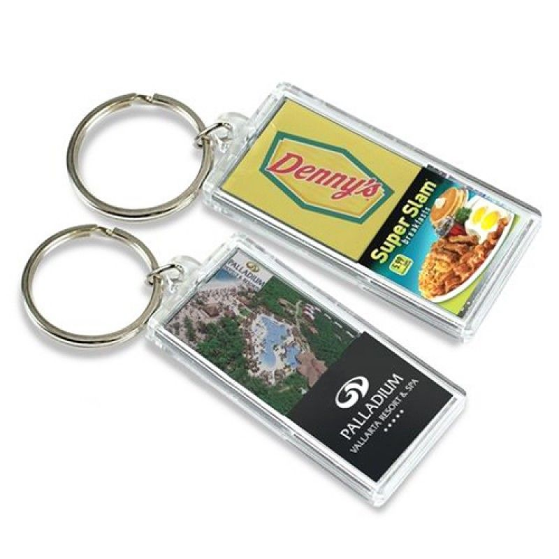 Wholesale Transparent Flash Solar LCD Keychain