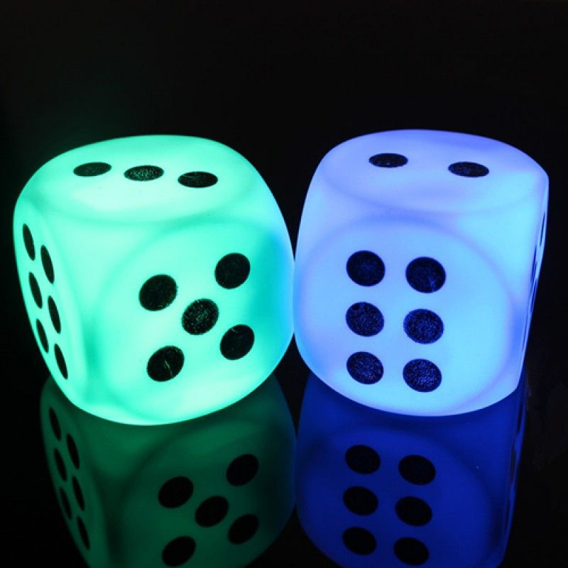 Wholesale Colorful Led Light Dice