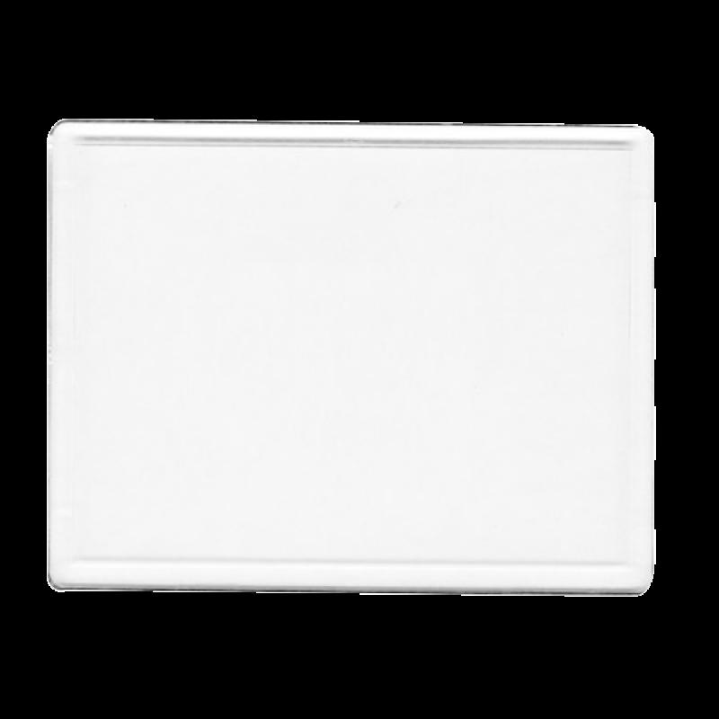 Wholesale BLANK - Snap-In Jumbo Rectangle Flat Magnet-[BW-27079]