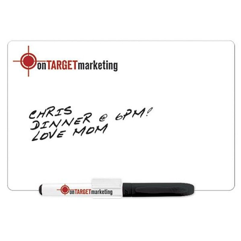 Wholesale Large Dry Erase Magnet w/Marker & Clip-[BG-27150]