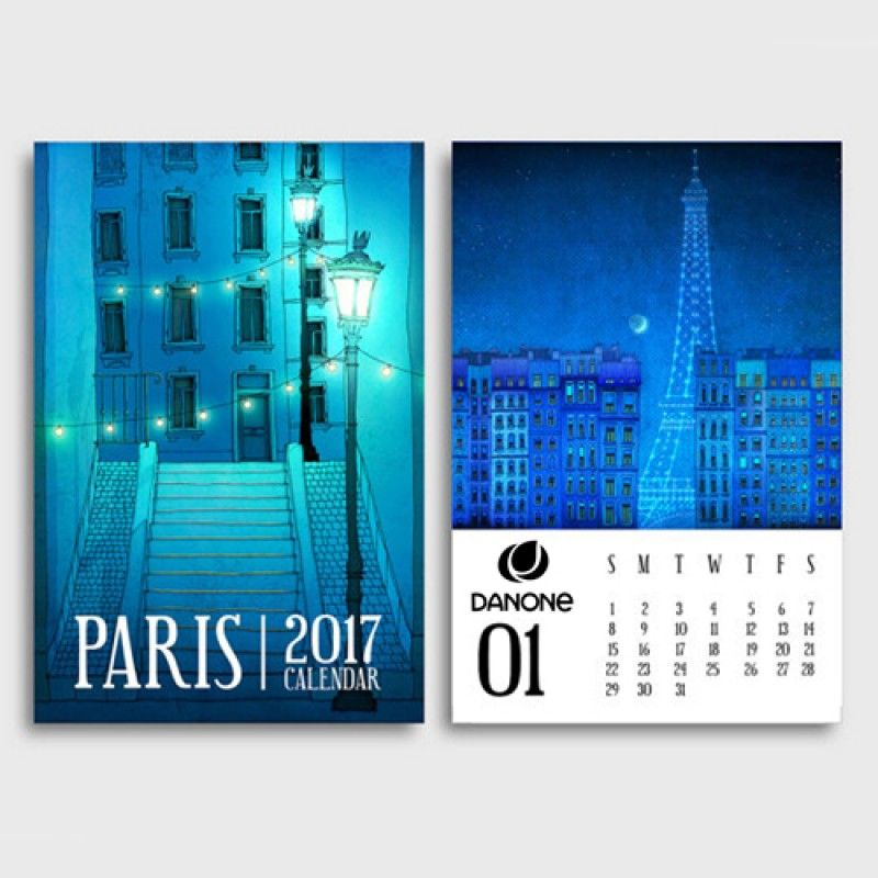 Wholesale Mini Desk Calendar