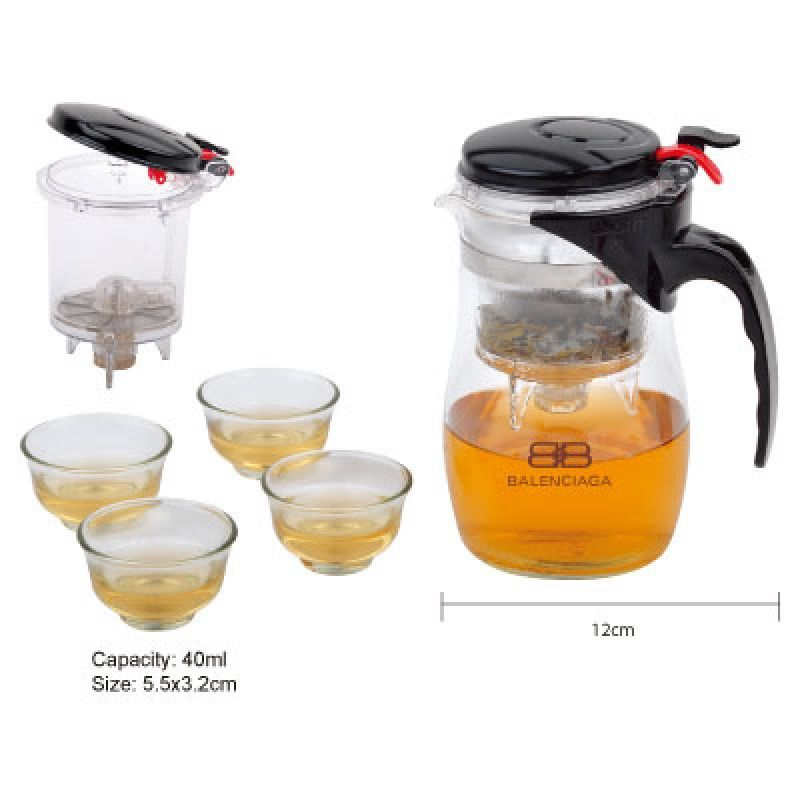 Wholesale Glass Tea Set