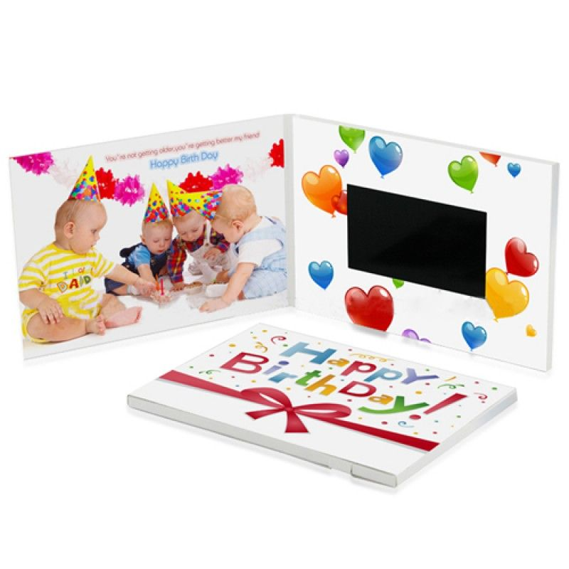 Wholesale 4.3 Inch Video Invitation Greeting Card