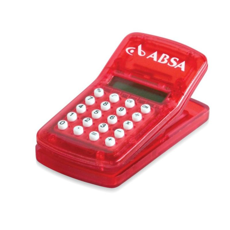Wholesale Calculator with Magnetic Clip