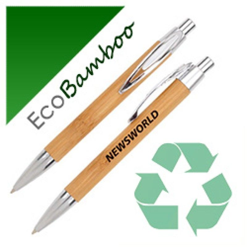 Wholesale Eco Bamboo Ball Pen