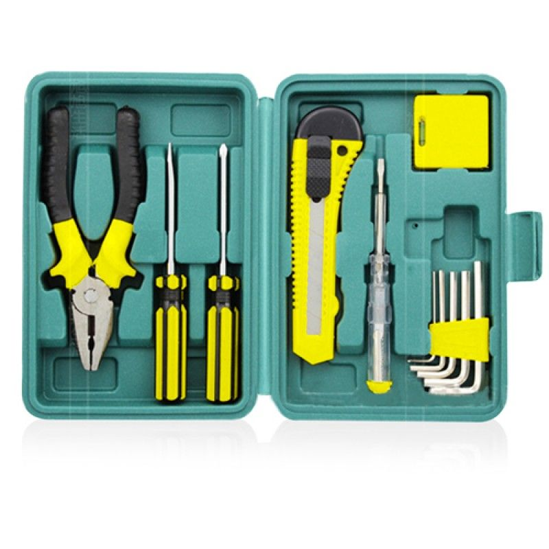 Wholesale 12 Piece Portable Maintenance Tool Kit