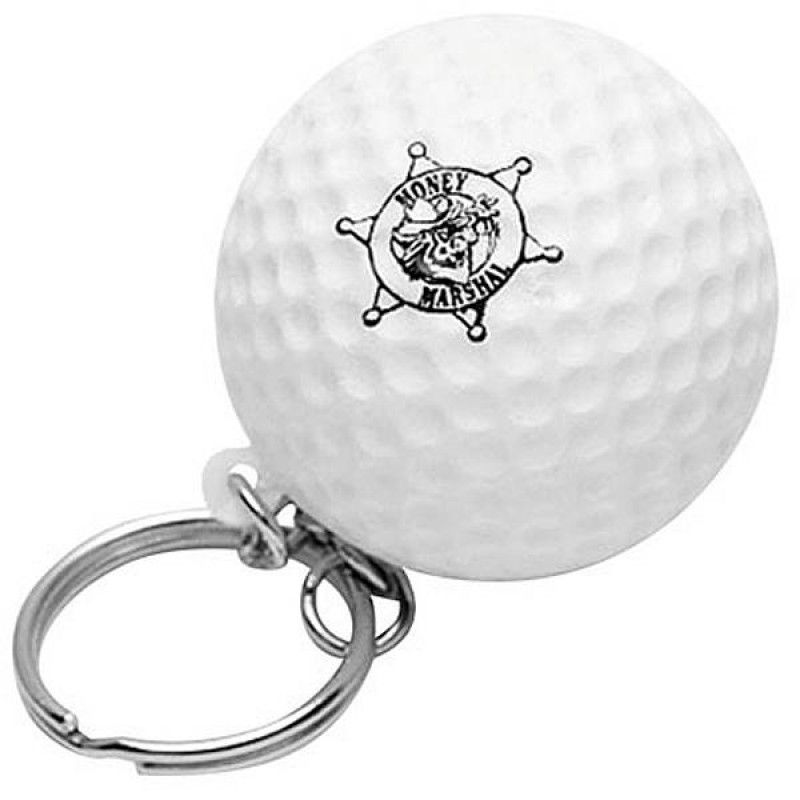 Wholesale Golf Ball Keychain Stress Reliever-[AL-28013]
