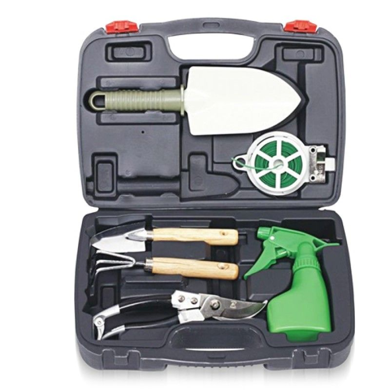 Wholesale 6-Piece Garden Tool Set With Case