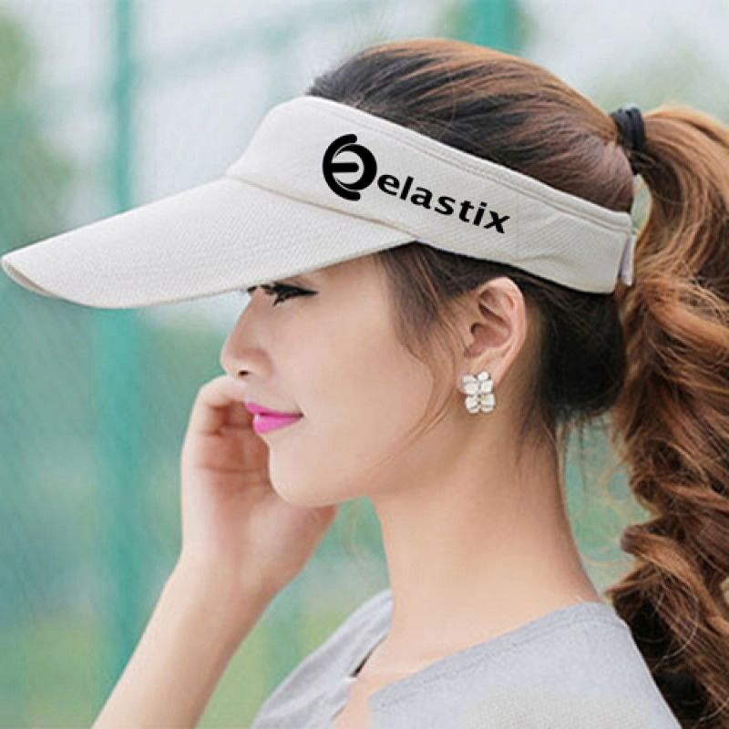Wholesale Unisex Cotton Sports Visor Cap