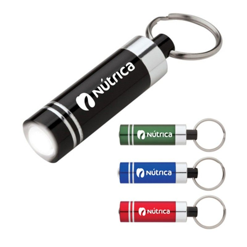 Wholesale Aluminum LED Flashlight Keyring
