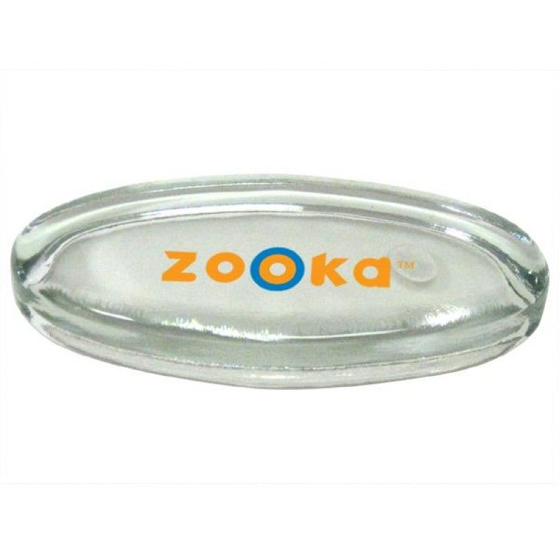 Wholesale Clear Oval Paperweight-[FL-28007]