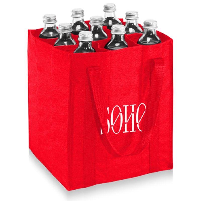 Wholesale 9 Bottle Carrier Tote Bag