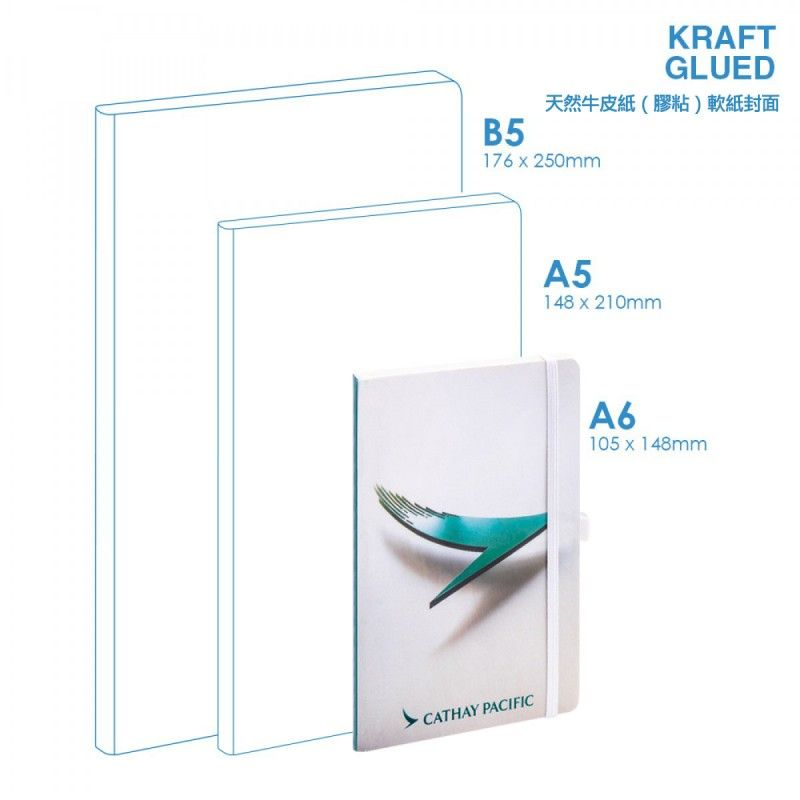 Wholesale Eco A6 Soft Cover (glued) Notebook