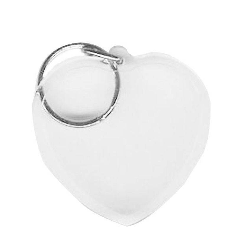 Wholesale BLANK - Snap-In Heart Flat Key Tag-[BW-27073]