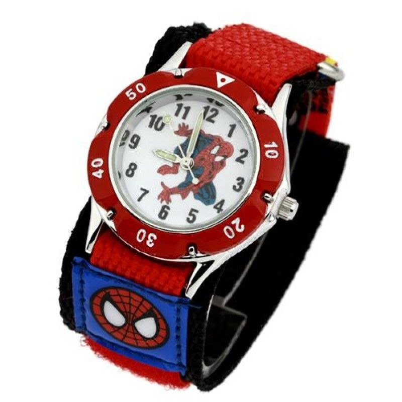 Wholesale Students Spider man Watches