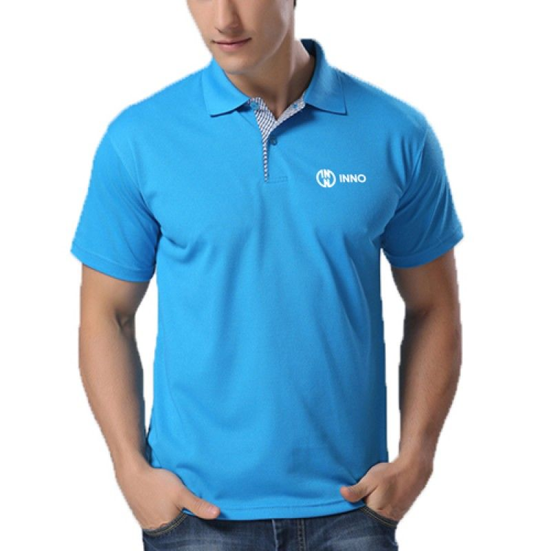 Wholesale Contrast Placket Polo Shirt
