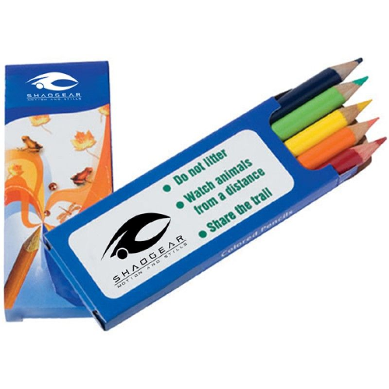 Wholesale Colored 5 Pencils Pack