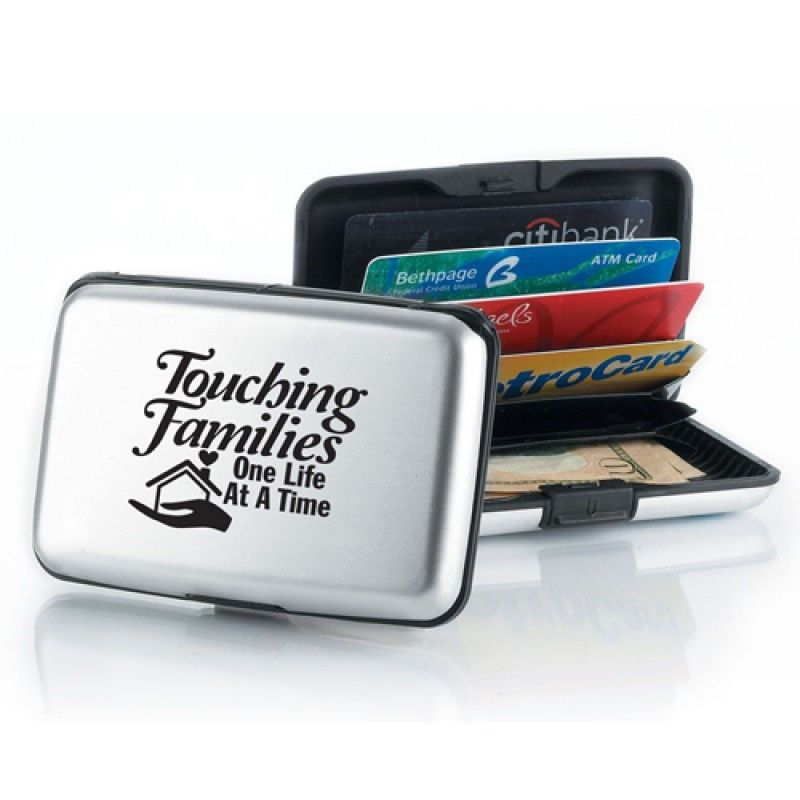 Wholesale Aluminum Card Wallet