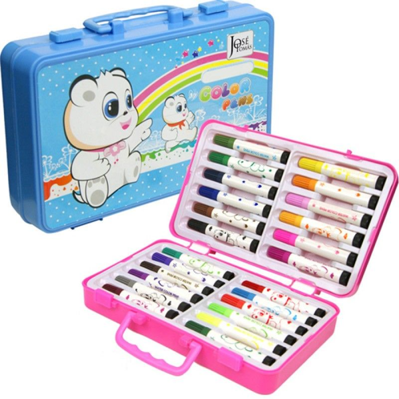 Wholesale Children 24 Painting Drawing Pen in Box