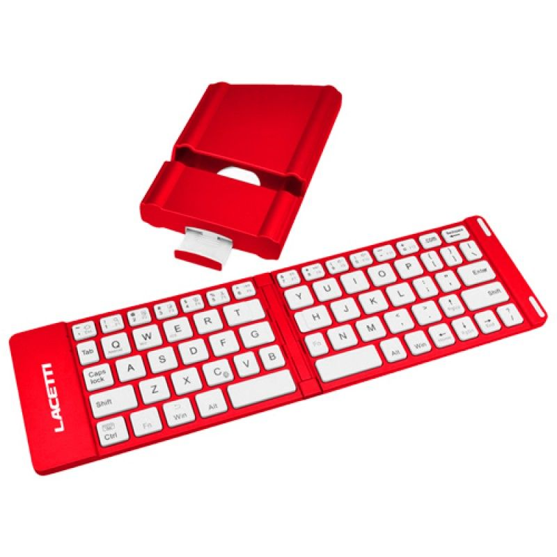 Wholesale 2 In 1 Slim Bluetooth Wireless Foldable Keyboard