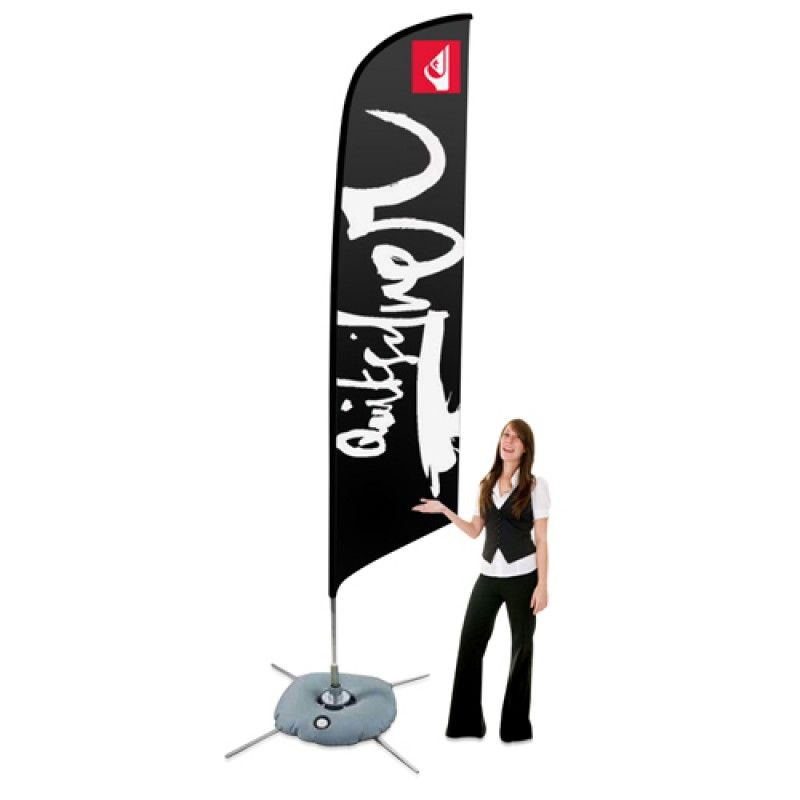 Wholesale Big Feather Floating Flag Banner