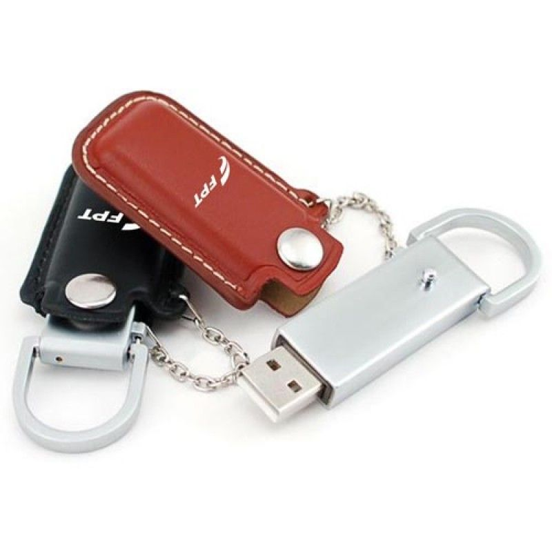 Wholesale 2GB Dashing Flash Drive With Leather Case
