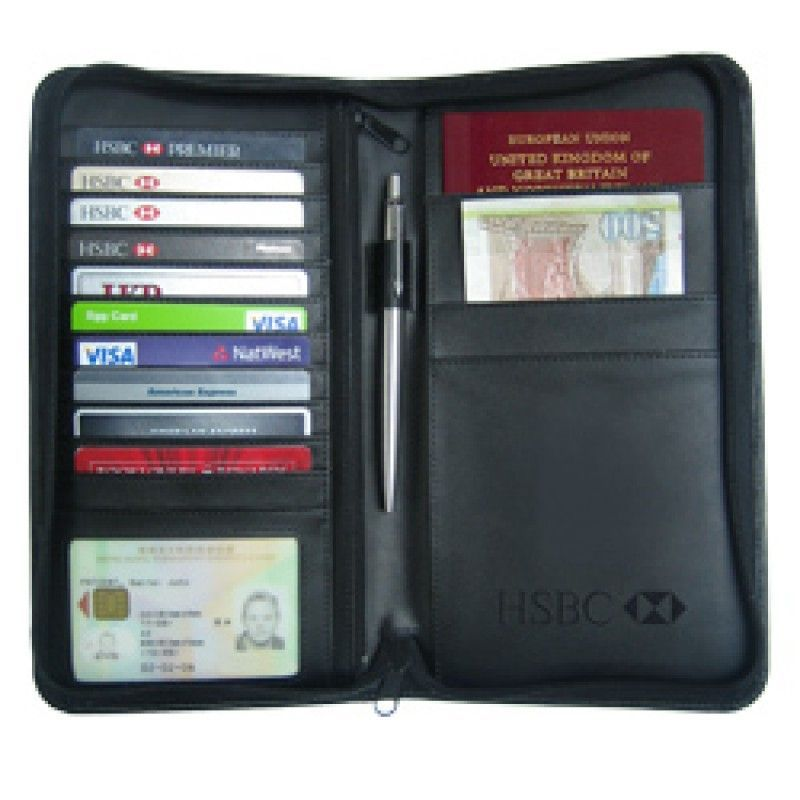 Wholesale Leather VIP Travel Pouch