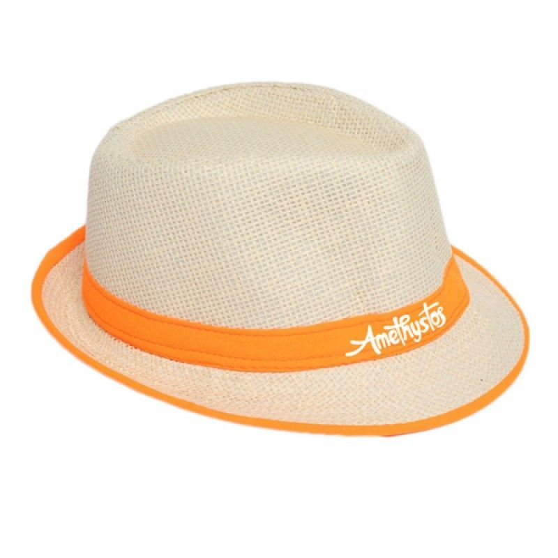 Wholesale Fluorescent Unisex Beach Straw Hat