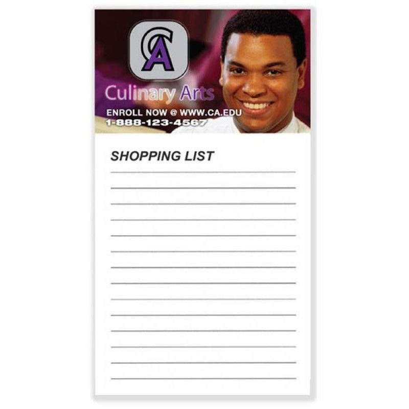 Wholesale Magnets with 50 Sheet Notepads-[BG-27120]