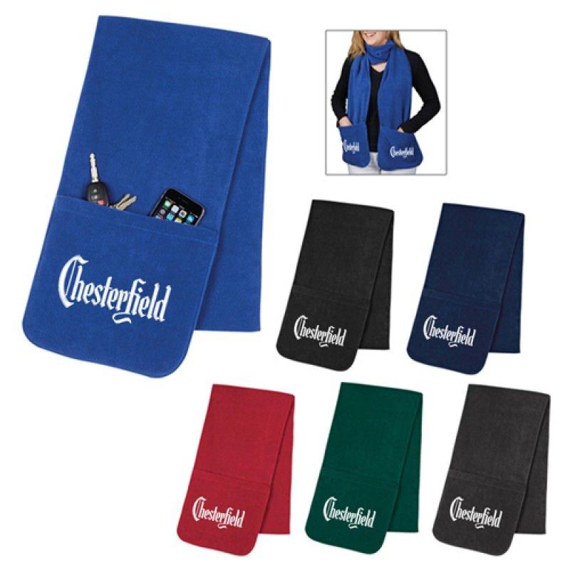 Wholesale Custom Fleece Pockets Scarf