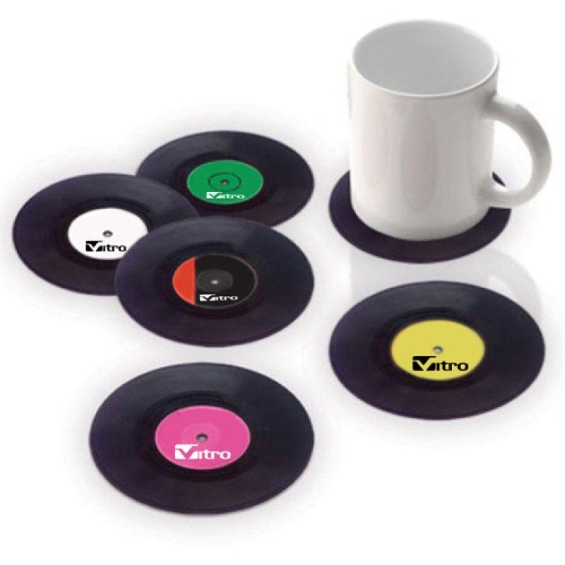 Wholesale Retro Vinyl Record Coaster