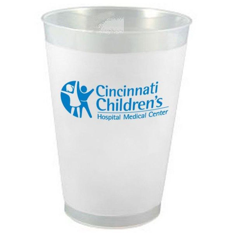 Wholesale 12 oz. Frosted Translucent Cup-[DC-29710]