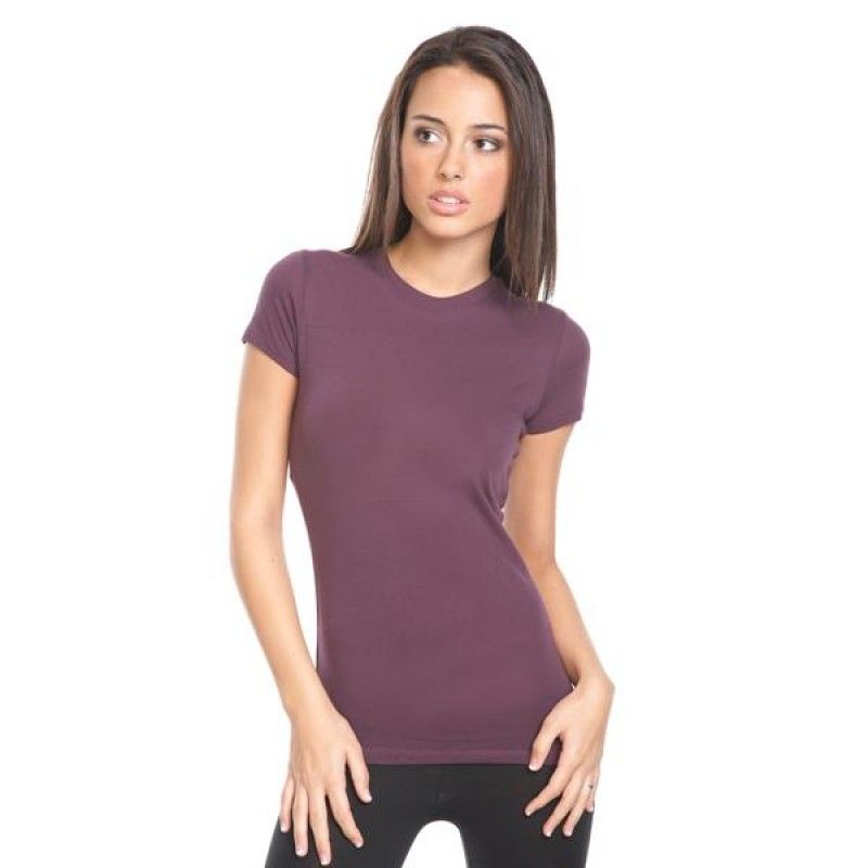 Wholesale Next Level Ladies Perfect Cotton Tee-[EV-25007]