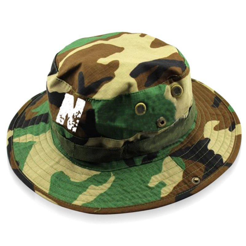 Wholesale Camouflage Cotton Boonie Bucket Hat