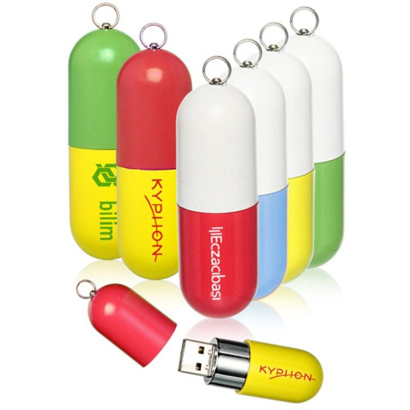 Wholesale 8GB Capsule Shaped Flash Drive