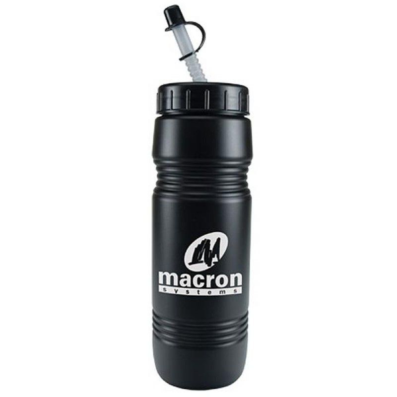 Wholesale 26 oz. Recycled Bottle with Straw Tip Lid-[CP-28024]