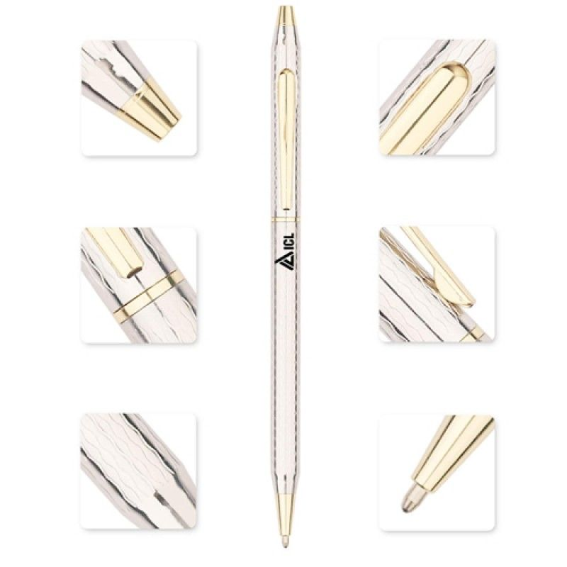 Wholesale Slim Twist Action Ballpoint Pen