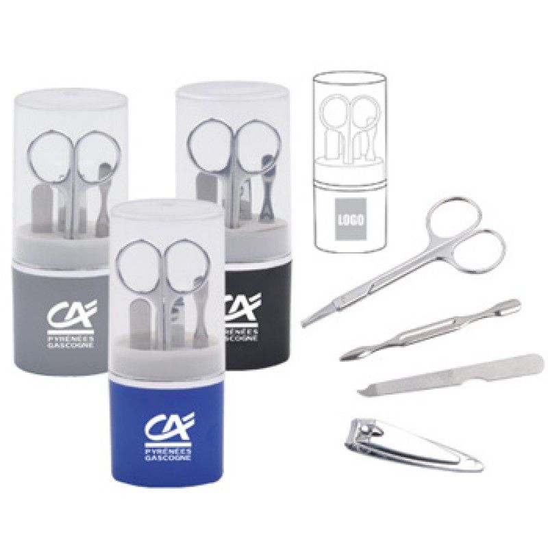 Wholesale Cylinder Manicure Set