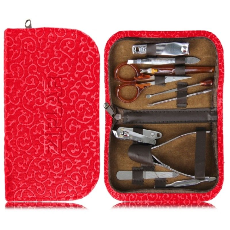 Wholesale 10 Piece Manicure Set With Case