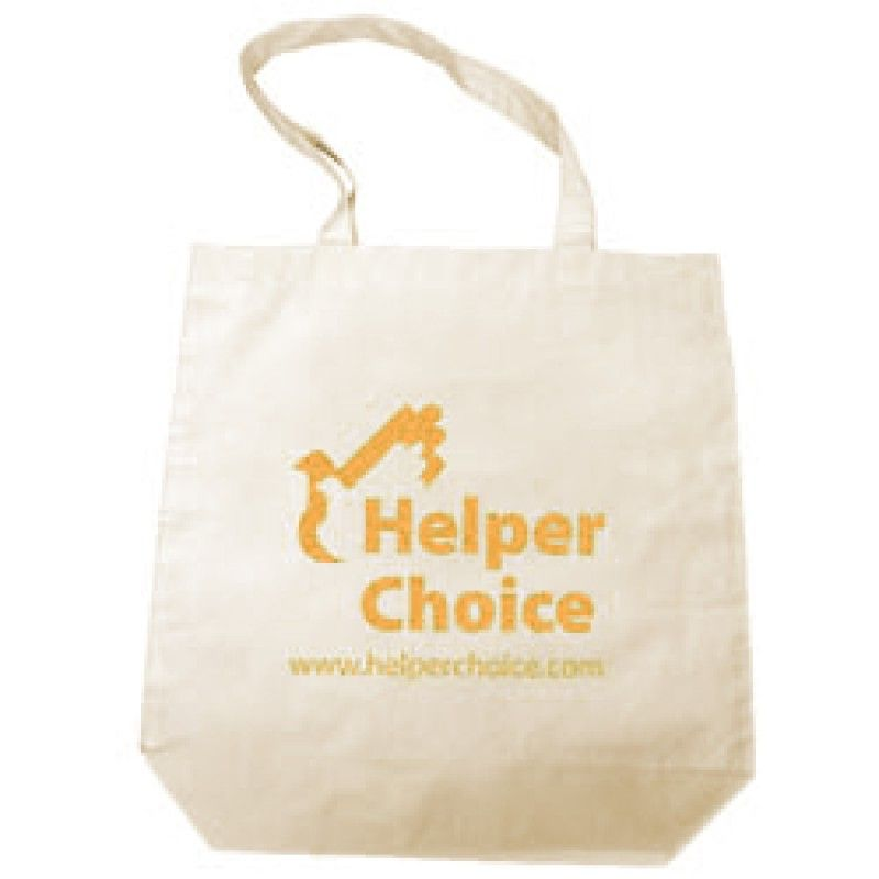 Wholesale Natural Cotton Shopper - Medium