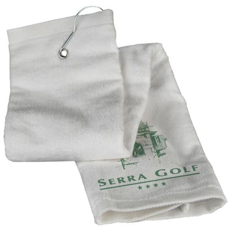 Wholesale Tri-Fold Golf Towel-[CP-27120]