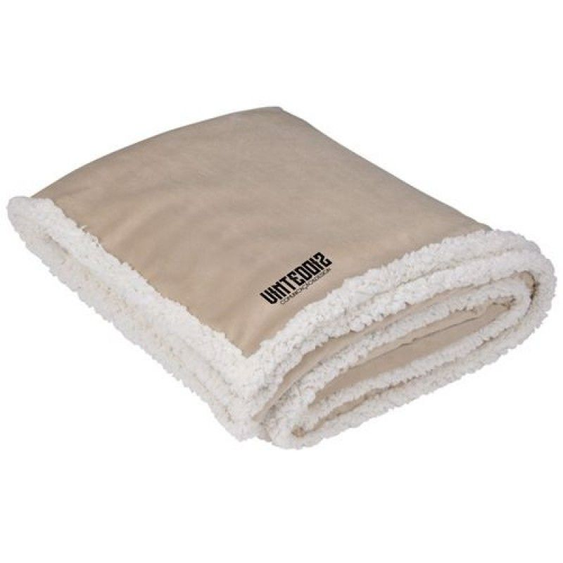 Wholesale Finest Custom Promotional Sherpa Blanket