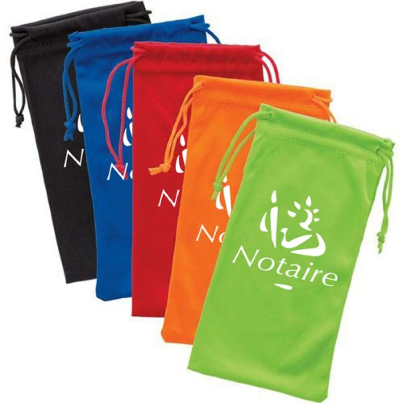 Wholesale Polyester Sunglass Drawstring Pouch