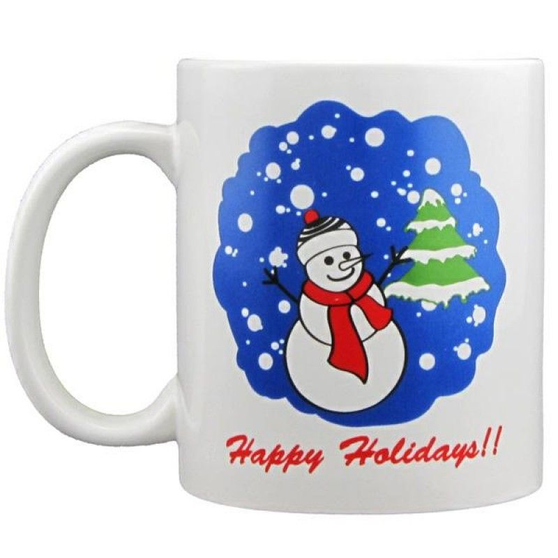 Wholesale 11 oz. Snowman Mug-[FL-27002HD]